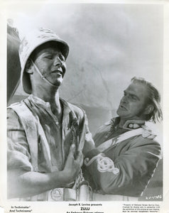 Black & White Photo Still from 'ZULU' - Evacuation of the Hospital Building