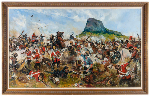 'THE DEATH OF PRIVATE GRIFFITHS VC, ISANDLWANA' by Jason Askew