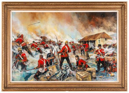 'THE BATTLE OF RORKE'S DRIFT' by Jason Askew