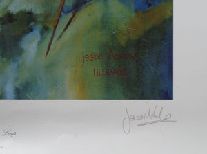 THE BATTLE OF HLOBANE BY JASON ASKEW SIGNED PRINT