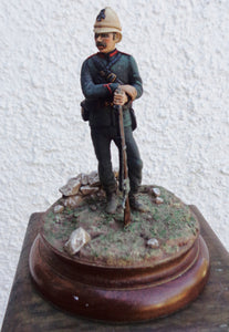 PAINTED MODEL SOLDIER 3/60th RIFLES