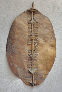 NICE 19th CENTURY ZULU WAR-SHIELD, IHAWU
