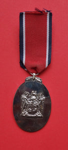 South African Defense Forces John Chard Silver Medal