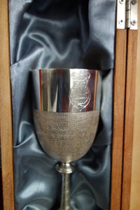 24th MESS SILVER COMMEMORATIVE GOBLET