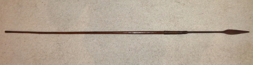 A ZULU THROWING SPEAR, ISIJULA