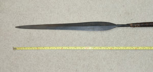 ELEGANT 19th CENTURY ZULU STABBING SPEAR