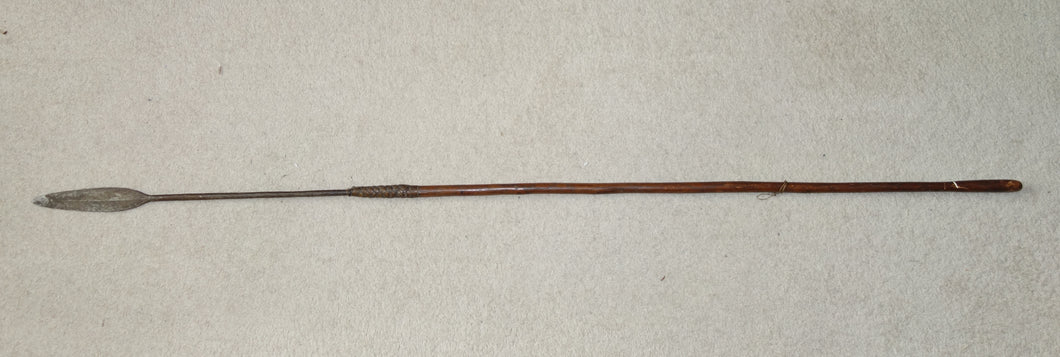 LATE 19th CENTURY ZULU THROWING SPEAR, ISIJULA
