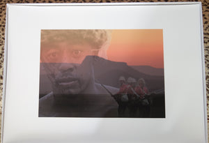 'THE GHOSTS OF ISANDLWANA'; Limited Edition Print