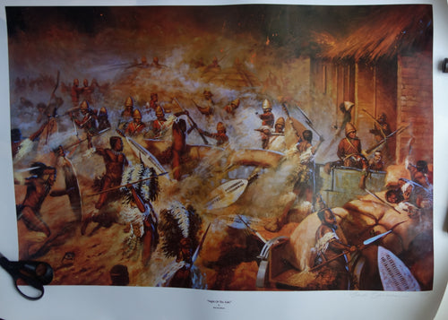 'NIGHT OF THE ZULU' by Bud Bradshaw