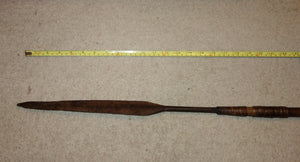 GOOD 19TH CENTURY ZULU STABBING SPEAR