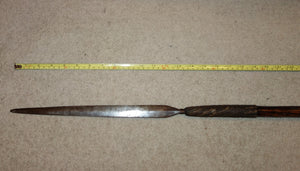 SLIM, ELEGANT ZULU STABBING SPEAR