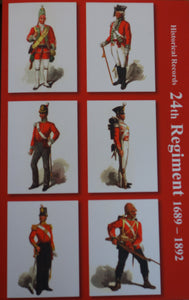 HISTORICAL RECORDS OF THE 24th REGIMENT, 1698-1892, by Paton, Glennie and Penn-Symons