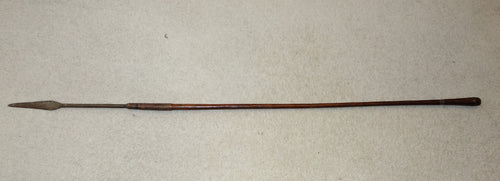 VERY FINE LIGHT 19th CENTURY ZULU THROWING SPEAR