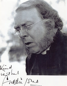 Celebrity Autograph - Freddie Jones in the role of 'Bishop Colenso' in Zulu Dawn movie