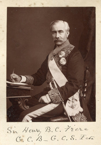 Nice Cabinet-Photo of Sir Bartle Frere