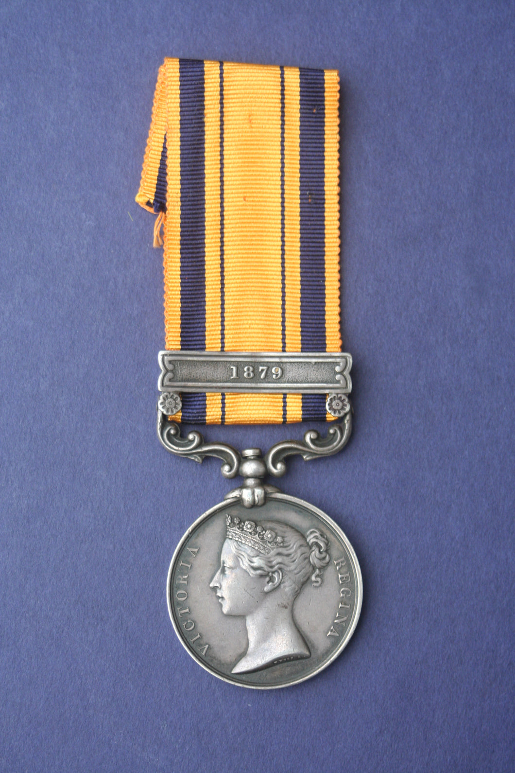 South Africa General Service Medal, 1879 bar ('Anglo-Zulu War') - 1495 Pte. J. Massie, 91st Highlanders.