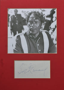 1964 ZULU Movie - Ivor Emmanuel (Private Owen) Autograph in mount