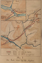 Two 1960s Hand-Drawn Maps of the iSandlwana Campaign Prepared For Battlefield Display