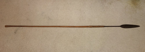 EXCELLENT 19TH CENTURY ZULU THROWING SPEAR, ISIJULA