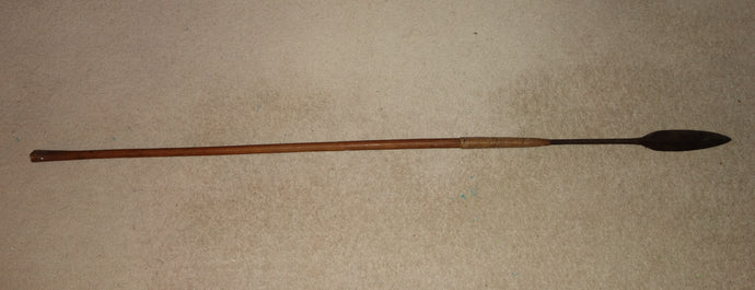 Good Late 19th/Early 20th Century Zulu Throwing Spear, Isijula