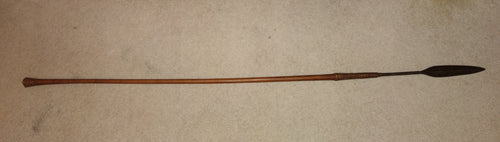 TYPICAL 19TH CENTURY ZULU THROWING SPEAR, ISIJULA