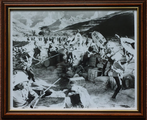 FRAMED STILL FROM ZULU - Colour Sgt Bourne