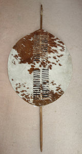 EXCELLENT SWAZI SHIELD - Late 19th/Early 20th Century