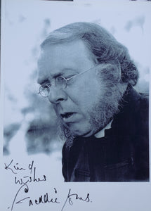 Celebrity Autograph - Freddie Jones in the role of 'Bishop Colenso' in Zulu Dawn