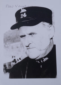Celebrity Autograph - Peter Vaughan, who played 'Quartermaster Bloomfield' in Zulu Dawn