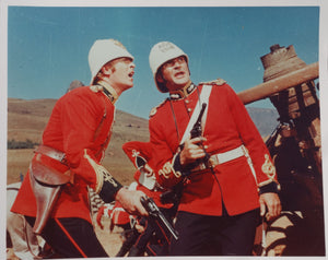 ZULU Movie Still - Depicting Michael Caine and Stanley Baker