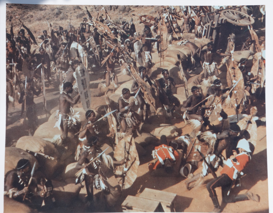 ZULU Movie Still - 1970s re-release British FOH set from Zulu