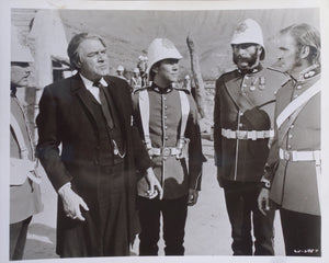 ZULU Movie Still - Jack Hawkins, Garry Bond, Nigel Green and Stanley Baker