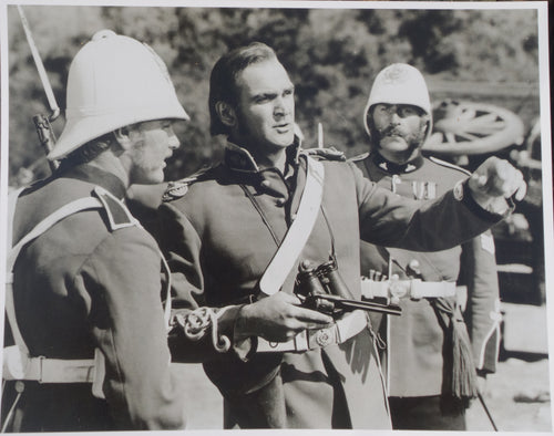 ZULU Movie Still - Featuring Stanley Baker and Nigel Green