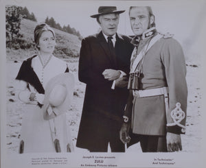ZULU Movie Still - Original featuring Ulla Jacobsson, Jack Hawkins, Stanley Baker from cut scene