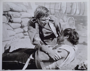 ZULU Movie Still - Original featuring David Kernan and Glyn Edwards in rare cut scene