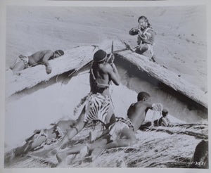ZULU Movie Still - Depicting fighting on the hospital roof