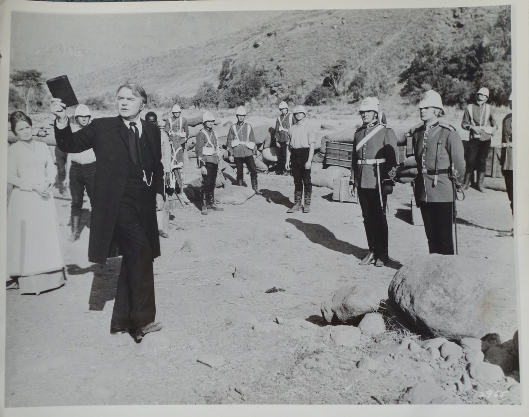 ZULU Movie Still - Jack Hawkins, marked Silver Screen Archives on reverse