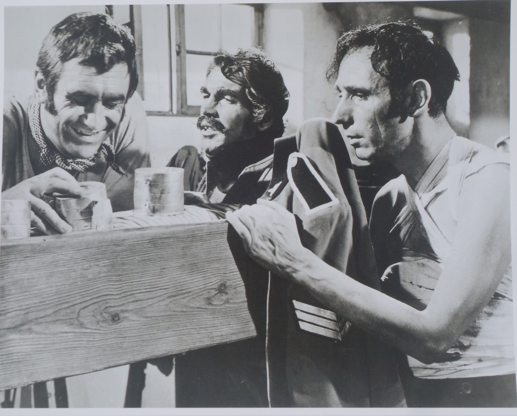 ZULU Movie Still - James Booth, Larry Taylor etc. in hospital