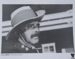ZULU DAWN Movie Still - Viacom video release 10 x 8 still of Burt Lancaster
