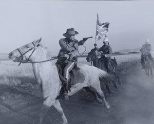 ZULU DAWN Movie Still - Original 10x8 still featuring Simon Ward, James Faulkner and Christopher Cazenove