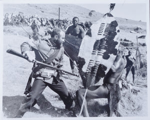 ZULU DAWN Movie Still - Modern 10x8 still featuring Bob Hoskins in action