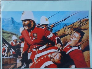 Celebrity Autograph - Nigel Green who played 'Colour Sergeant Bourne'