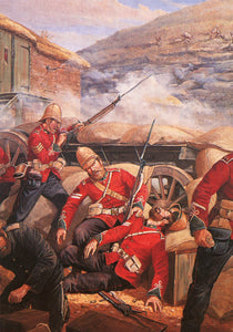MODERN POSTCARD Corporals Allan and Lyons at Rorke's Drift
