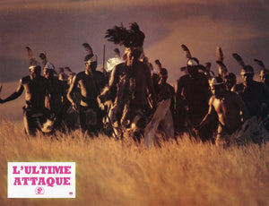 FRENCH LOBBY CARDS FROM 'ZULU DAWN' - 'L'ULTIME ATTAQUE'