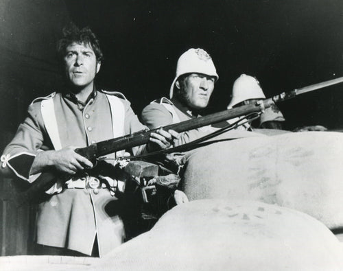 ZULU Movie Still, Ivor Emmanuel and Neil McCarthy
