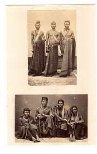 Two CDV Photographs - Xhosa Councillors of King Sandile