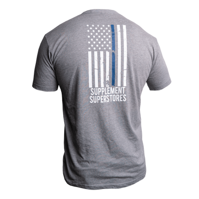 Thin Blue Line T-Shirt - In Memory of Deputy Aaron Paul Roberts