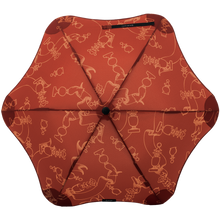 Load image into Gallery viewer, Blunt Karen Walker 2019 Grandmaster Metro Umbrella Mahogany Top View