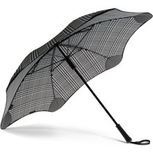 Load image into Gallery viewer, 2020 Classic Houndstooth Blunt Umbrella Under View