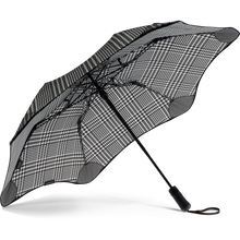 Load image into Gallery viewer, 2020 Metro Houndstooth Blunt Umbrella Under View